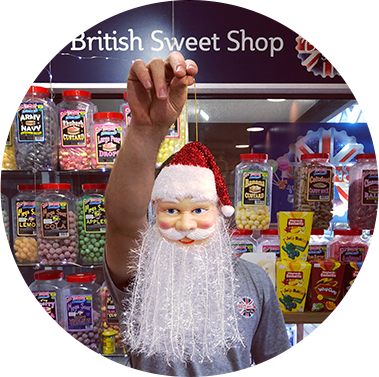 Lolly Shop Owner Robert Dinsdale