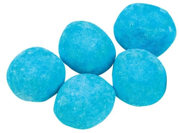 English Sweet Shop Sour Blue Raspberry Bon Bons