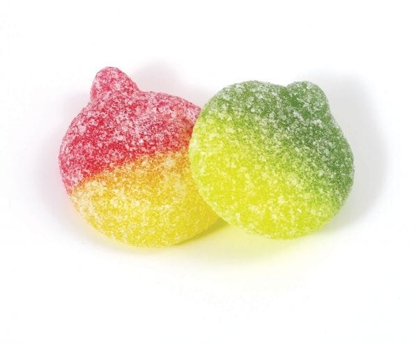 Uk Sweets Sour Apples Soft