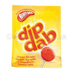 English Sweets Sherbert Dib Dabs