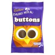 British Sweets And Treats Dairy Milk Buttons