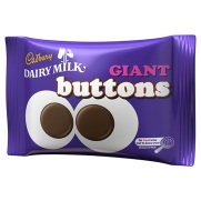 British Sweet Shop Dairy Milk Giant Buttons