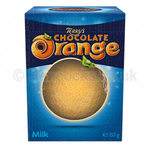 British Confectionery Choc Orange Dark Ball
