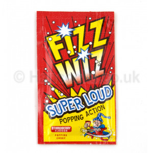 Lollies Perth Fizz Wizz Loud Popping Candy Strawberry