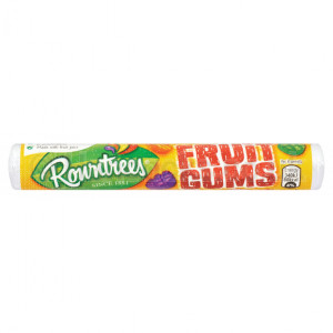 UK Sweets Fruit Gums Rolls