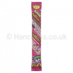 British Sweets Millions Tubes Blackcurrant Buzz