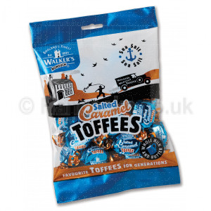 Candy Shop Perth Walkers Salted Caramel Toffee Bag