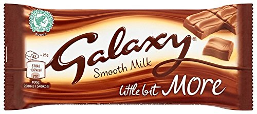 British Sweet Shop Galaxy Milk Chocolate With A Little Bit More