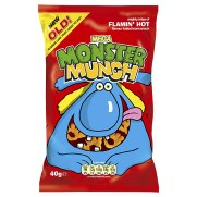 Monster Munch Flamin' Hot At Lolly Shops Near Me