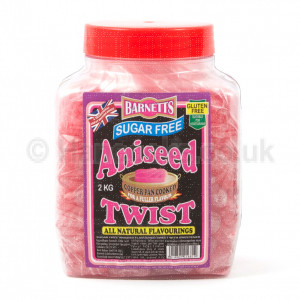 British Shop Sugar Free Aniseed Twist