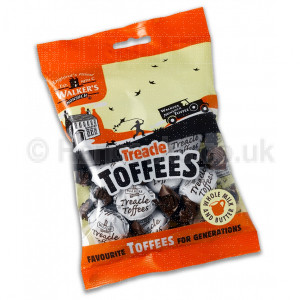 Lolly Shop Walkers Treacle Toffees Bag