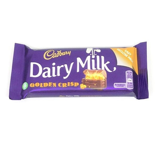 English Confectionery Cadburys Golden Crisp