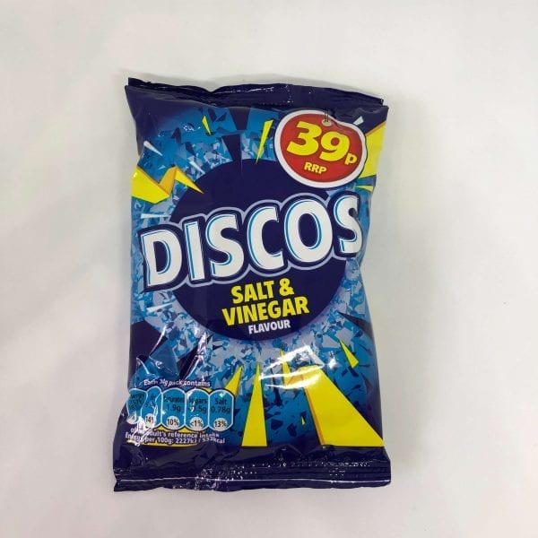 Candy Shop Perth Discos Salt & Vinegar