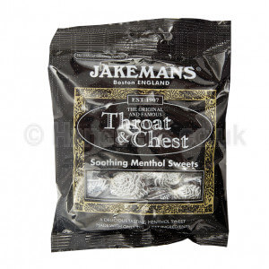 UK Sweets Jakemans Throat And Chest