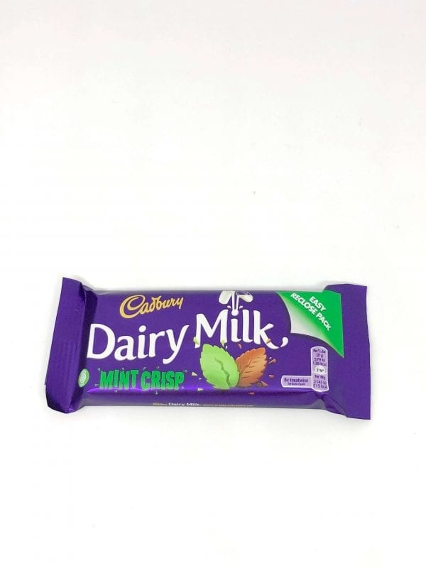 English Confectionery Cadbury Mint Crisp