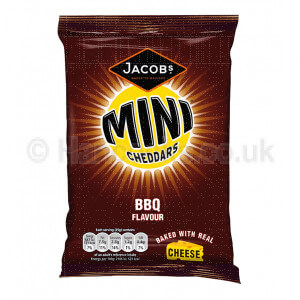 British Shop BBQ Mini Cheddars