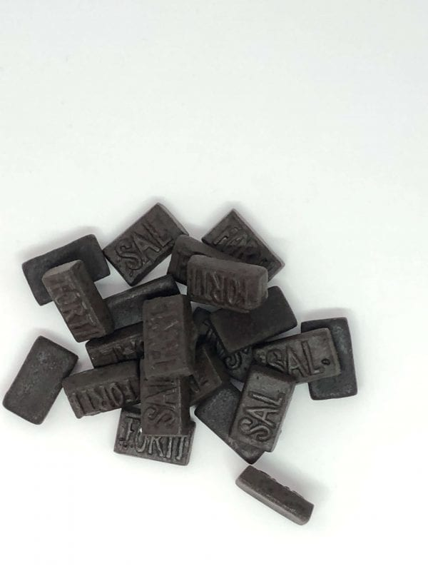 English Sweets Dutch Triple Salt Liquorice