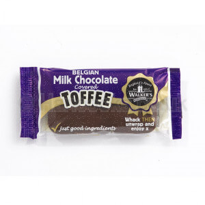 English Confectionery Walkers Belgian Chocolate Toffee Bar