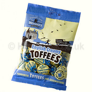 British Shop Perth Walkers Creamy English Toffee Bag